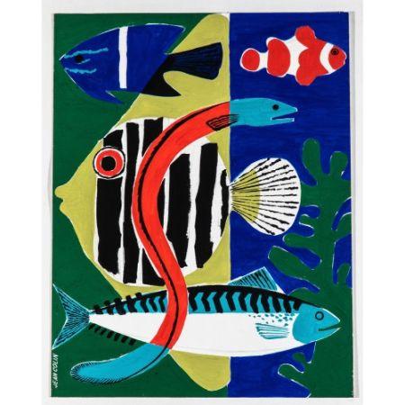 Keine Technische Colin - Les poissons