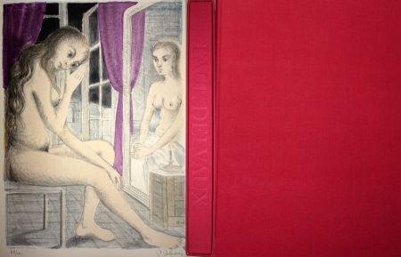 Illustriertes Buch Delvaux - Les Rideaux Mauves (Les Dessins de Paul Delvaux)