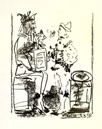 Lithographie Picasso -
