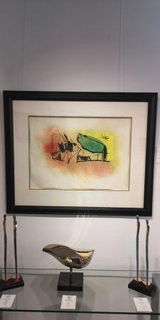 Radierung Und Aquatinta Miró - Les Scarabees