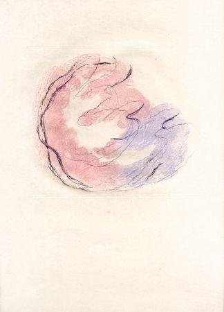 Radierung Und Aquatinta Fautrier - Les seins et le sexe (Fautrier l'enragé)