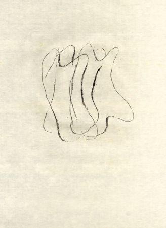 Radierung Fautrier - Les torses nus (fautrier l'enragé)