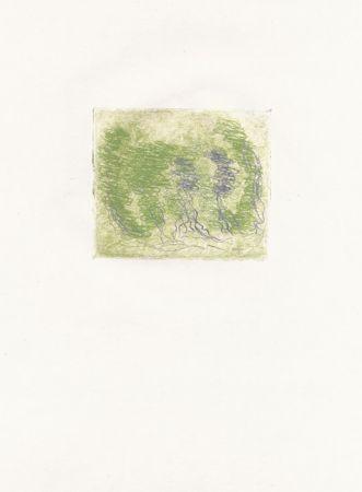 Radierung Fautrier - Les trois arbres (Fautrier l'enragé)