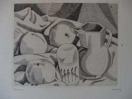 Stich Laboureur - Les trois pommes