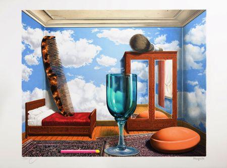 Lithographie Magritte - Les Valeurs Personnelles (Personal Values)