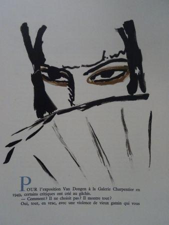 Lithographie Van Dongen - L'Espagnole