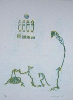 Lithographie Ernst - Lewis Carroll's Wunderhorn 11