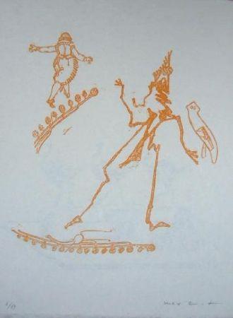Lithographie Ernst - Lewis Carroll's Wunderhorn 15