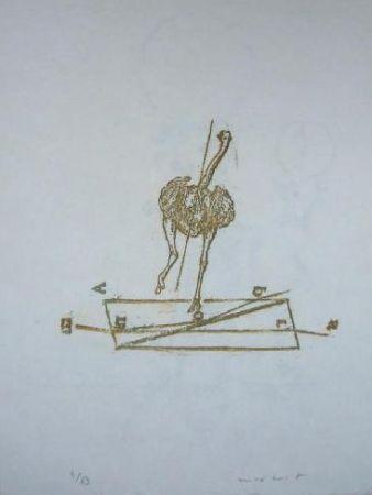 Lithographie Ernst - Lewis Carroll's Wunderhorn 17