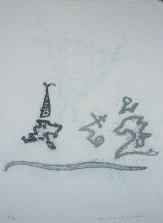 Lithographie Ernst - Lewis Carroll's Wunderhorn 25