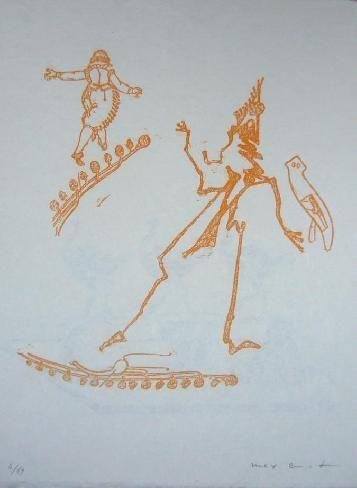 Lithographie Ernst - Lewis Carroll's Wunderland 15