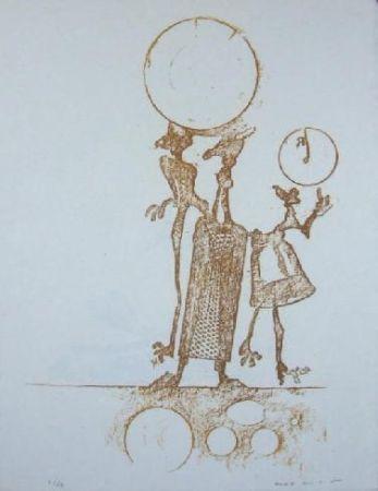 Lithographie Ernst - Lewis Carrol's Wunderhorn 18