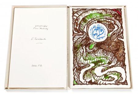 Illustriertes Buch Alechinsky - L'Excédante