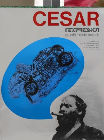 Siebdruck Cesar - L'Expression