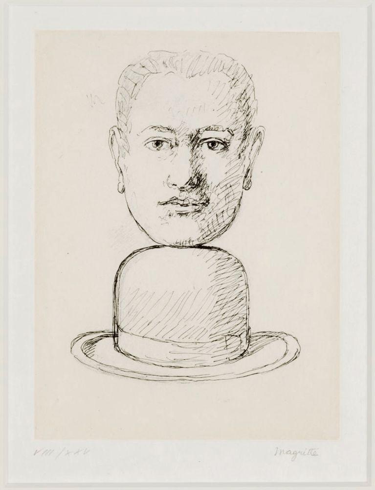 Keine Technische Magritte - L'Homme au chapeau Melon
