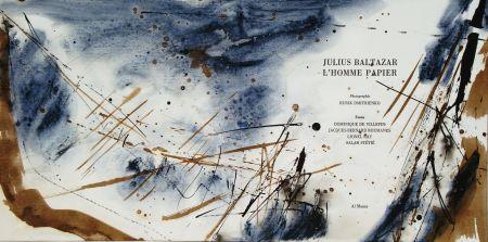 Illustriertes Buch Baltazar - L'homme papier