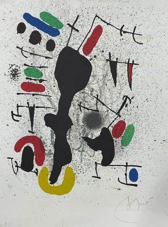Lithographie Miró - Liberté des libertés 4