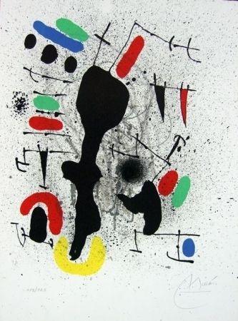 Lithographie Miró - Liberté des libertés II