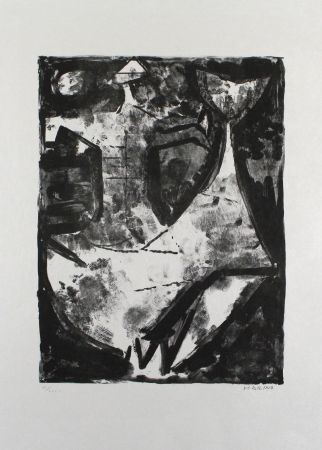 Lithographie Marini - L'Idea del cavaliere
