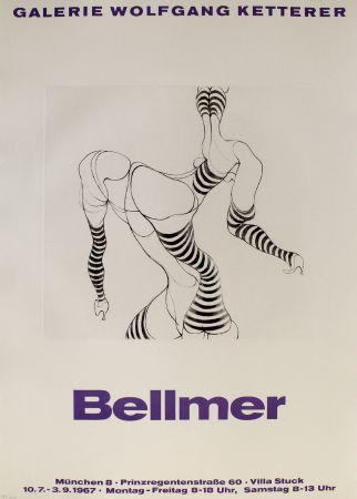 Stich Bellmer - Liegende In Strümpfen