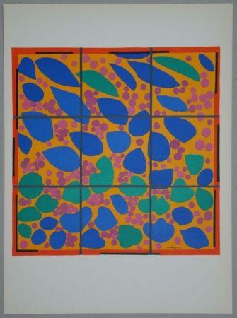 Lithographie Matisse - Lierre en Fleur