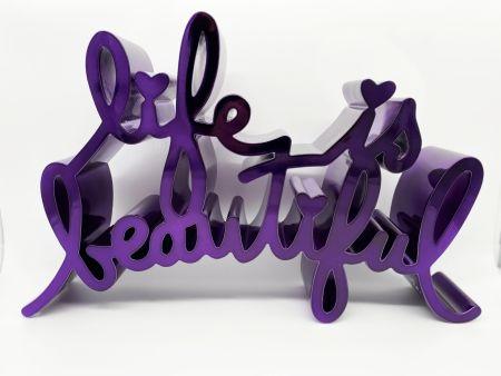Hochdruck Mr Brainwash - Life Is Beautiful - Hard Candy (Purple)
