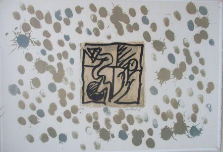 Lithographie Alechinsky - LinoLitho IV