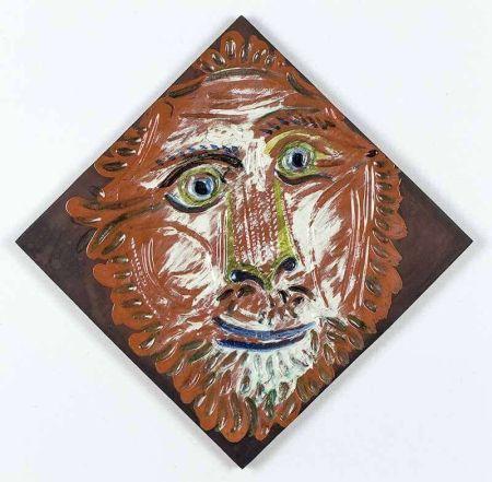 Keramik Picasso - Lion's Head, 1968-1969