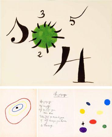 Illustriertes Buch Miró - Lise Hirtz. IL ÉTAIT UNE PETITE PIE. 1/20 ex. de tête, sur Japon, signé (1928).