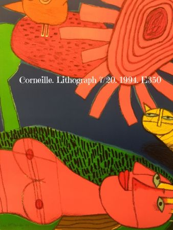 Lithographie Corneille - Lithograph 7/200