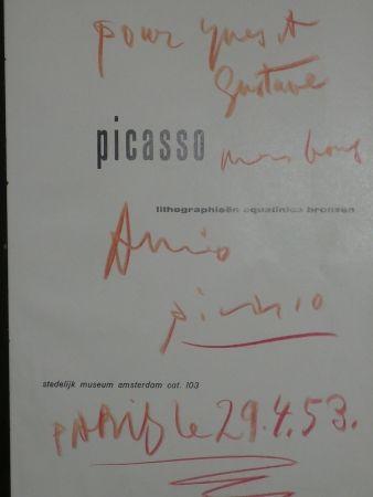 Illustriertes Buch Picasso - Lithographieën, aquatintes bronzen