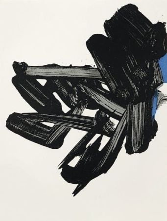 Lithographie Soulages - Lithographie 17