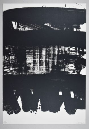Lithographie Soulages - Lithographie n°21