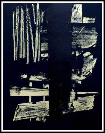 Keine Technische Soulages - Lithographie N°9