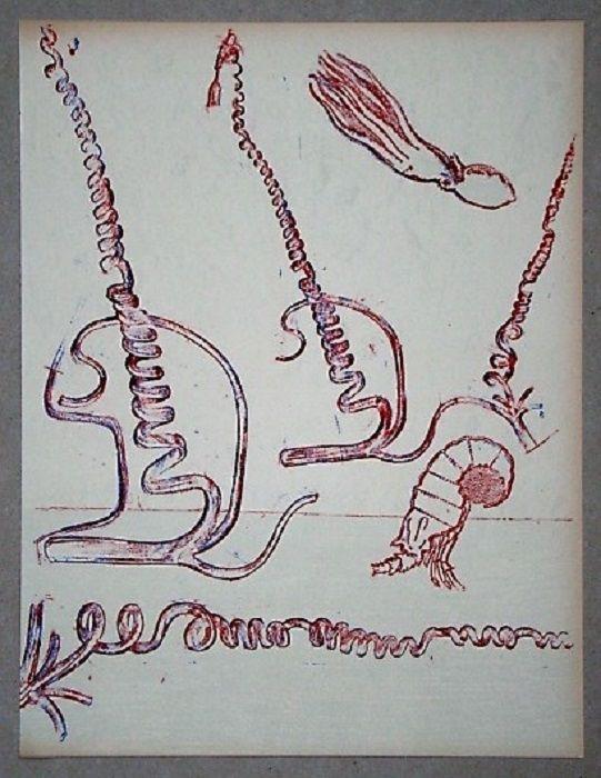 Lithographie Ernst - Lithographie originale pour XXe Siècle
