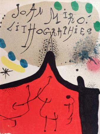 Illustriertes Buch Miró - Lithographies