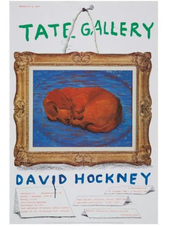 Plakat Hockney - Little Stanley Sleeping Tate Gallery