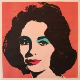 Lithographie Warhol - Liz 7 by Andy Warhol