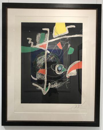 Radierung Und Aquatinta Miró - L'Libre dels Sis Sentits VI (Book of the Six Senses)