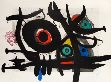 Stich Miró - L'oiseau destructeur