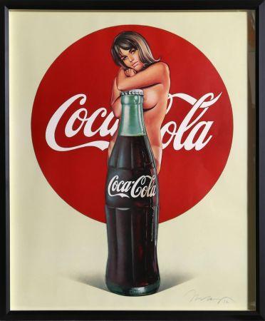Lithographie Ramos - Lola Cola