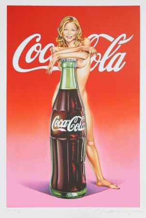 Lithographie Ramos - Lola Cola #4 (Michelle Pfeiffer)