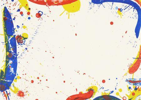 Lithographie Francis - Long Blue