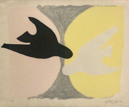 Radierung Und Aquatinta Braque - L'ordre des oiseaux