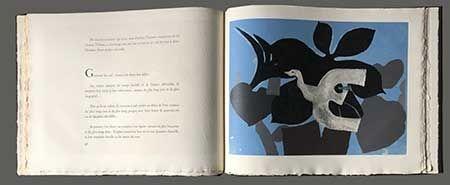 Illustriertes Buch Braque - L'ordre Des Oiseaux