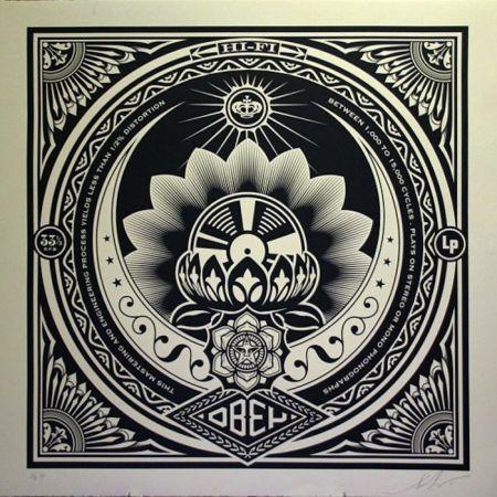 Siebdruck Fairey - Lotus Album, Large Format