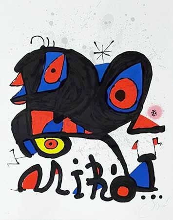 Lithographie Miró - Louisiana