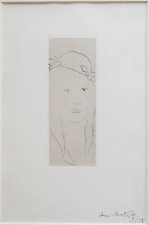 Stich Matisse - Loulou au chapeau fleuri