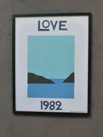 Plakat Saint Laurent - Love 1982