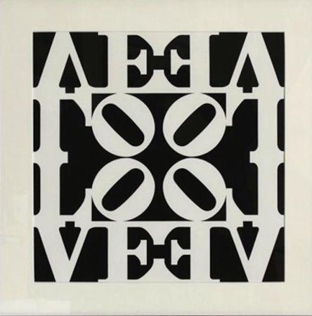 Siebdruck Indiana - Love, from Decade Portfolio